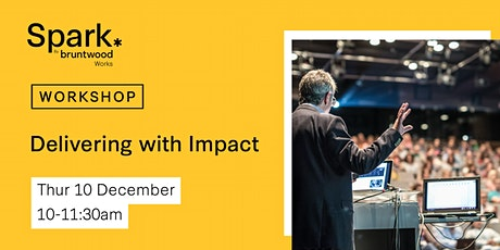 Spark Workshop: Delivering with Impact tickets