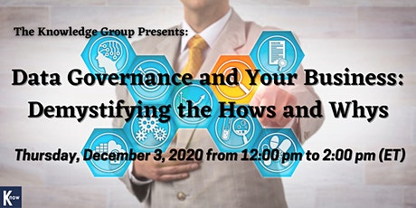 Data Governance and Your Business: Demystifying the Hows and Whys tickets