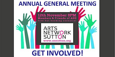 Arts Network Sutton AGM tickets
