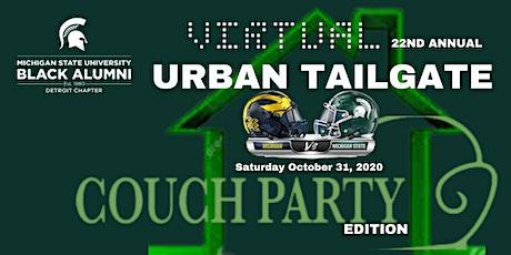 2020  MSUBA Detroit Chapter - VIRTUAL Urban Tailgate - MSU vs U of M tickets