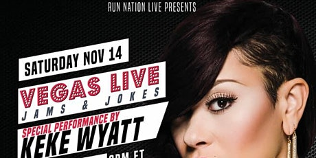 KeKe Wyatt Vegas Live Venue Ticket tickets