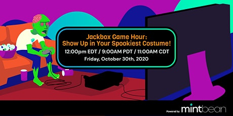 MB Jackbox Game Hour: Show Up in Your Spookiest Costume! tickets