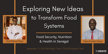 Exploring Ideas to Transform Food Systems tickets