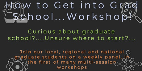 Graduate School Success  Workshops tickets