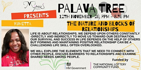 Palava Tree Webinar - The Nature and Blocks of Relationships tickets