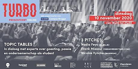 TURBO & KU Leuven presenteren Nadia Feys, Frank Missoul en Nicolas Vyncke tickets
