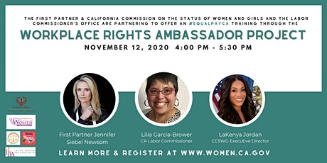 Workplace Rights Ambassador Program: Equal Pay Training tickets