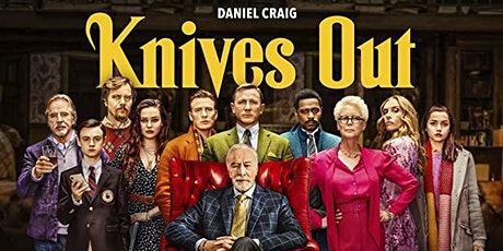 KNIVES OUT  - Movies In Your Car VENTURA - $29 Per Car tickets