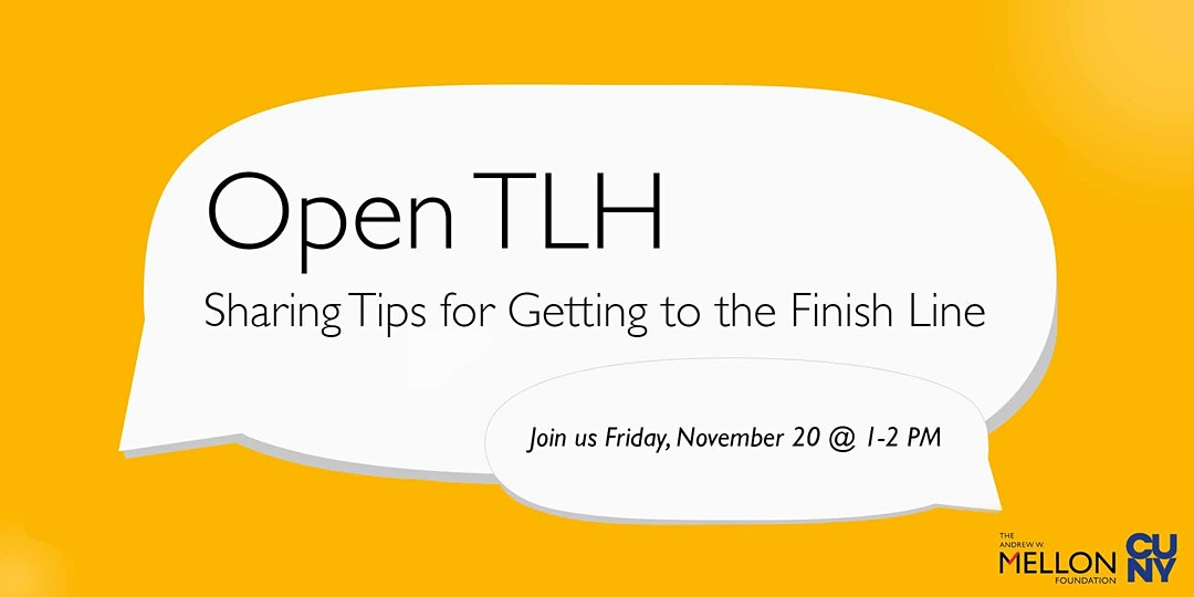 Open TLH Event Announcement