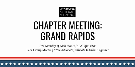 Woman Veteran Strong: Chapter Meeting (Grand Rapids) tickets