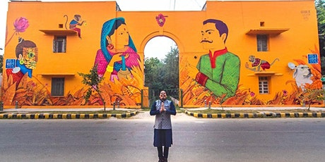 India's Largest Street Art Colony: Colorful & Inspiring Virtual Tour tickets