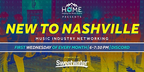 New to Nashville Music Industry Networking billets