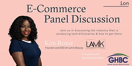 E-Commerce Panel Discussion | Kim Roxie tickets