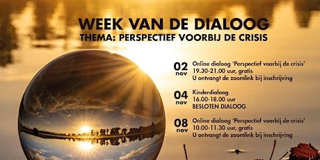 Online Dialoog zondag 8 november tickets