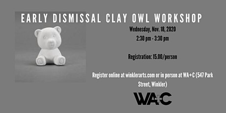 Clay Owl Workshop tickets