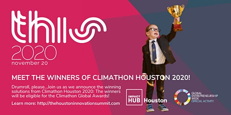 Climathon 2020: Announcing Houston's Winners! tickets