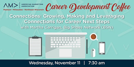 Marketing Career Development Coffee - Building Connections tickets