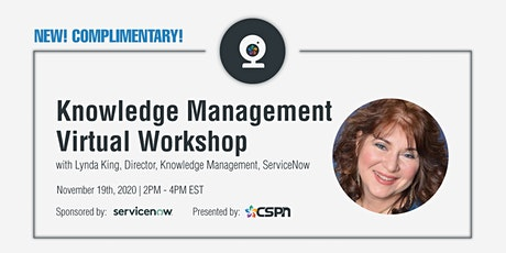 Transforming CX with Knowledge Management | Complimentary Virtual tickets