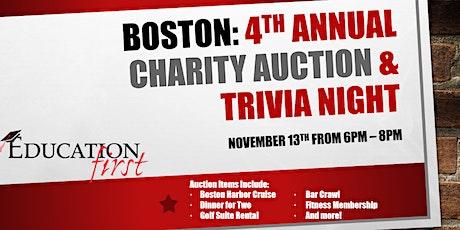 Boston: Annual Charity Auction & Trivia Night tickets