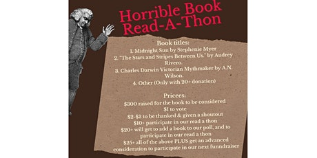 Horrible Book Read-A-Thon tickets