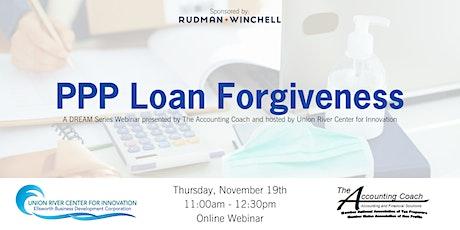 PPP Loan Forgiveness tickets
