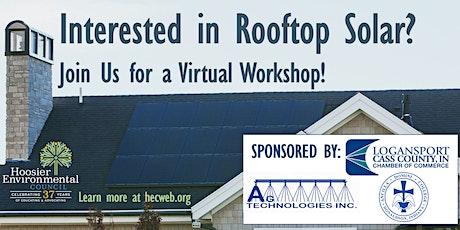 Virtual Solar Workshop - NC Indiana tickets