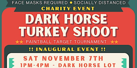 PAINTBALL TARGET SHOOT - TURKEY DRIVE FUNDRAISER tickets