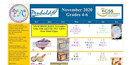 PYC Grades 4-6: November 2020 tickets