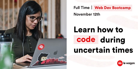 [Webinar] Discover our Full-Time Web Development  Bootcamp. tickets