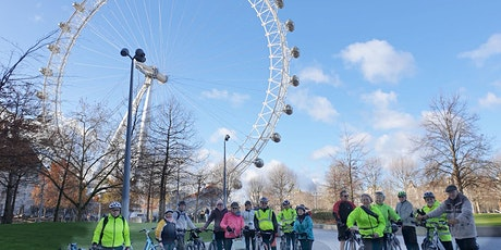 Canada Water to London Eye - Healthy Cycle Ride tickets