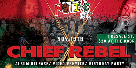 Black Native Presents: Just Us Chief Rebel Album Release/Video Premier/Bday tickets