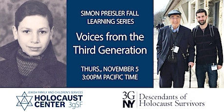 Voices from the Third Generation—Ezra tickets