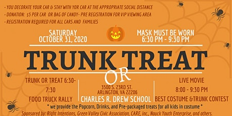 Community Trunk or Treat & Drive In Movie tickets