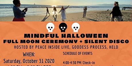 Full Moon Mindful Silent Disco Halloween Event tickets