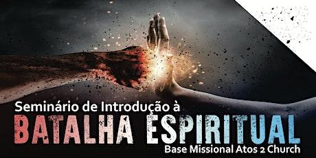 Seminário de Introdução à Batalha Espiritual ingressos