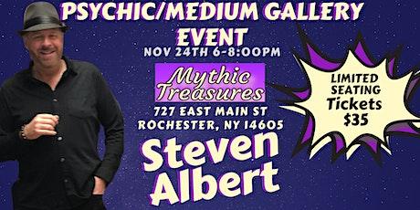 Steven Albert: Psychic Medium Gallery Event  Mystic Treasures tickets