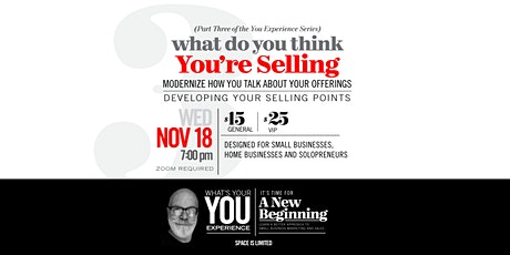 What Are You Really Selling? tickets