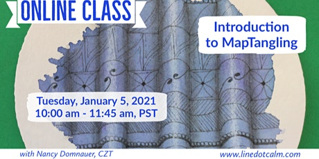 Zentangle®  Introduction to MapTangling Tuesday, January 5 tickets