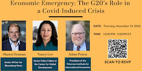 Economic Emergency: The G20's Role in a Covid-Induced Crisis tickets