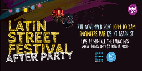 The After Party - Latin Street Festival - tickets