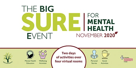 The BIG SURE for Mental Health Event - Sensory Grounding Techniques Taster tickets