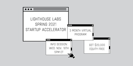Lighthouse Labs Spring 2021 Info Session: November tickets