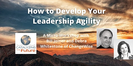 How to Develop Your Leadership Agility bilhetes