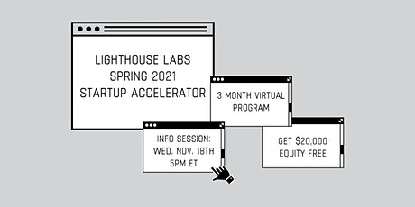 Lighthouse Labs Spring 2021 Info Session: December tickets