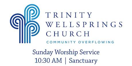 10:30 am Worship Service | Trinity Wellsprings Church tickets