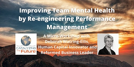 Improving Team Mental Health by Re-engineering Performance Management tickets