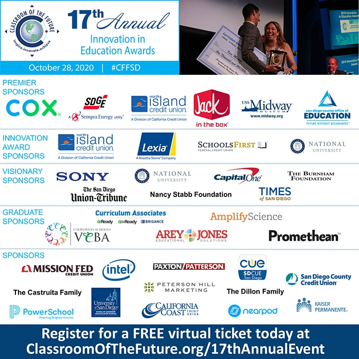 17th Annual Innovation in Education Awards Program image