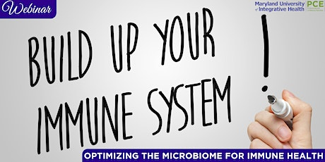 Webinar: Optimizing the Microbiome for Immune Health tickets