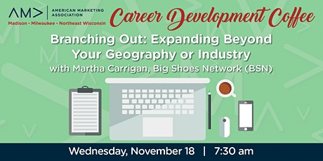 Marketing Career Development Coffee - Expanding the Job Search tickets