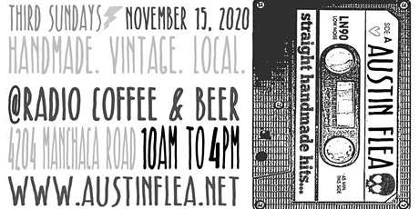 The Austin Flea at Radio Coffee & Beer tickets
